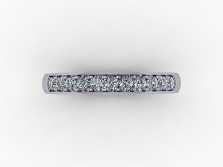 0.26cts. 1/3 Platinum Wedding Ring Ring