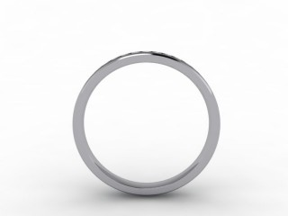 0.44cts. Full Platinum Wedding Ring Ring