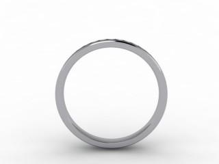 0.44cts. Full Platinum Wedding Ring Ring