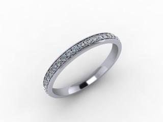 0.30cts. 3/4 Platinum Wedding Ring Ring