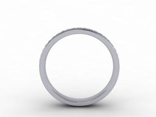 0.39cts. 1/2 Platinum Wedding Ring