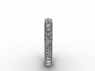 1.12cts. Full Platinum Wedding Ring Ring