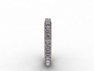 0.62cts. Full 9ct Rose Gold Wedding Ring Ring