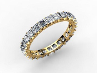 All Diamond Wedding Ring 3.00cts. in 18ct. Yellow Gold