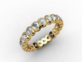 All Diamond Wedding Ring 1.75cts. in 18ct. Yellow Gold