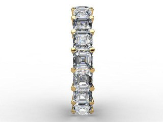 All Diamond Wedding Ring 4.44cts. in 18ct. Yellow Gold