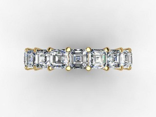 All Diamond Wedding Ring 4.44cts. in 18ct. Yellow Gold - 9
