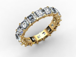 All Diamond Wedding Ring 4.44cts. in 18ct. Yellow Gold - 12