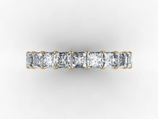 All Diamond Wedding Ring 3.75cts. in 18ct. Yellow Gold - 9