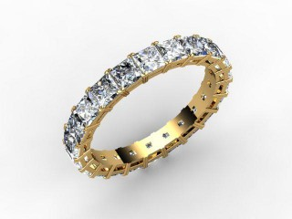 All Diamond Wedding Ring 3.75cts. in 18ct. Yellow Gold - 12