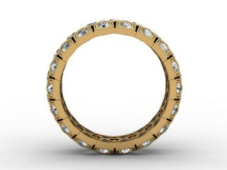 All Diamond Wedding Ring 2.00cts. in 18ct. Yellow Gold - 3