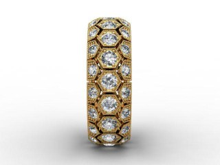 All Diamond Wedding Ring 2.00cts. in 18ct. Yellow Gold - 6