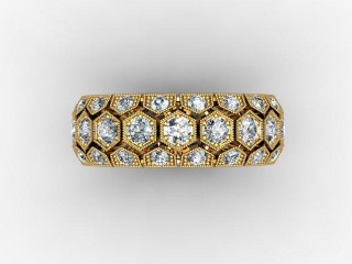 All Diamond Wedding Ring 2.00cts. in 18ct. Yellow Gold - 9