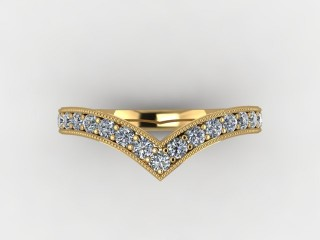 All Diamond 0.38cts. in 18ct. Yellow Gold