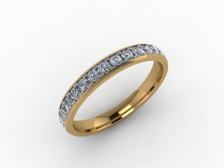 0.62cts. Full 18ct Gold Wedding Ring Ring