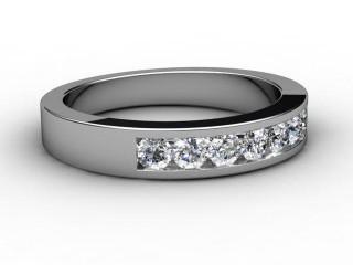 All Diamond 0.50cts. in Palladium
