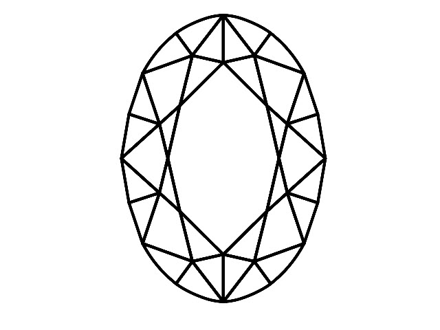 Oval-Cut Diamond