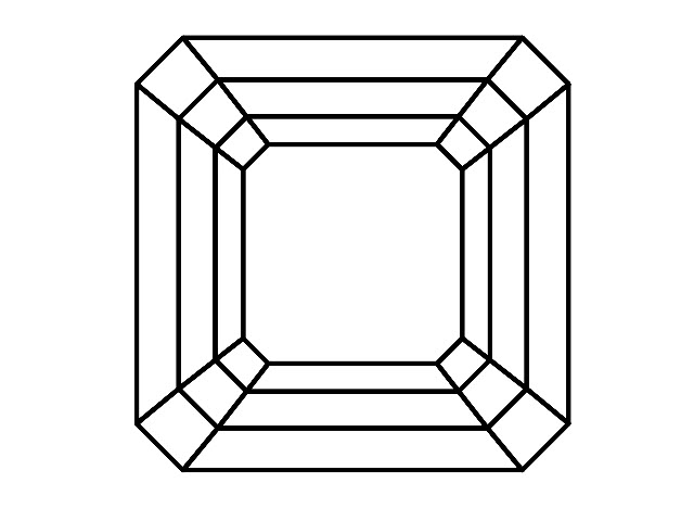 Certified Asscher-Cut Diamonds