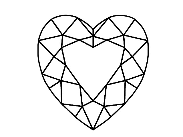 Certified Heart Shape Diamonds