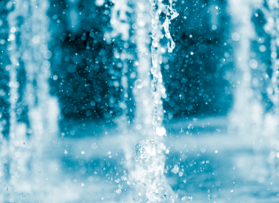 NATURAL - 1000s of litres of water used
